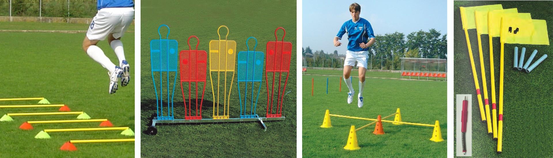 attrezzature allenamento per il calcio