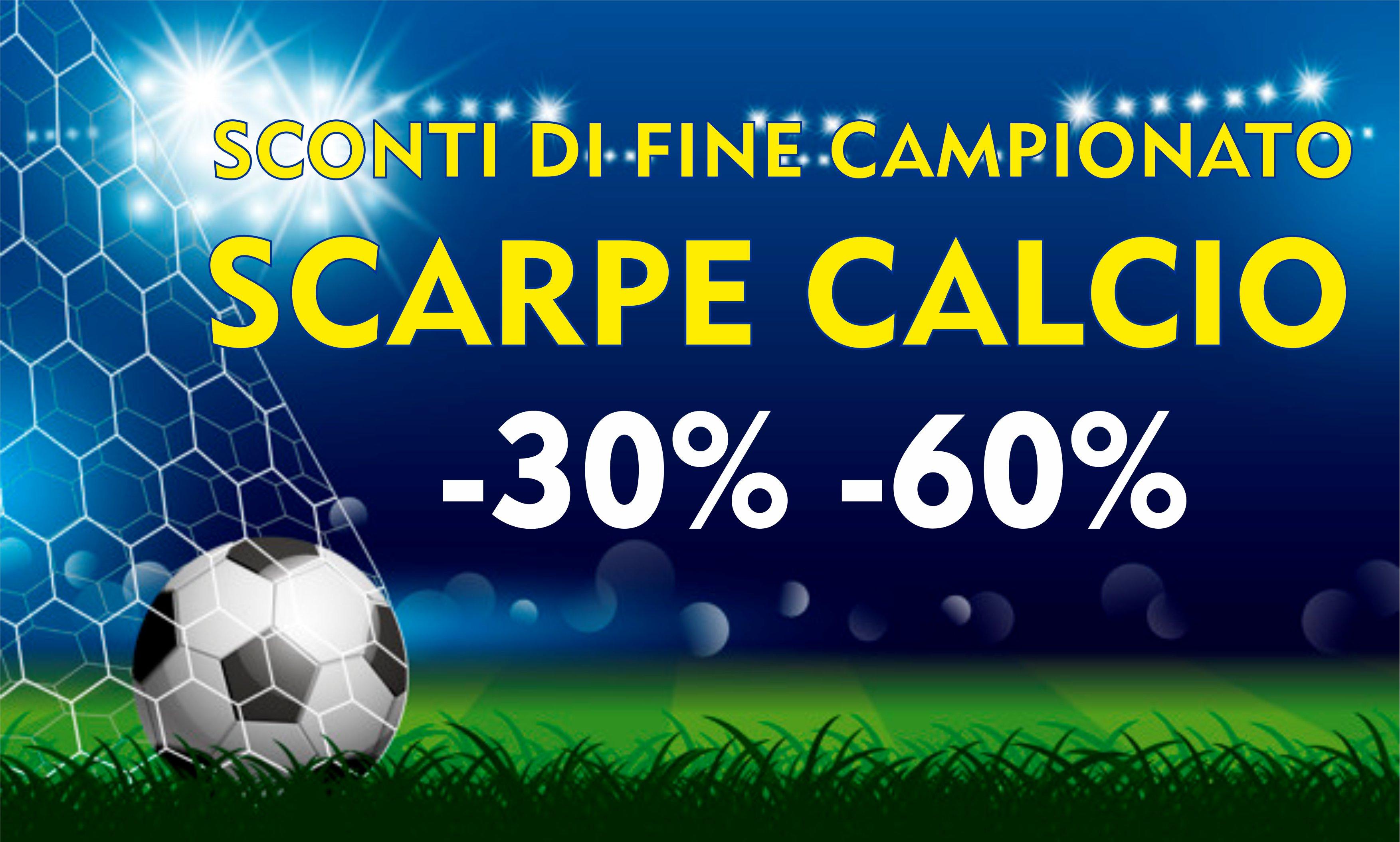 SPORT90 - scarpe calcio sconto -30% -60%