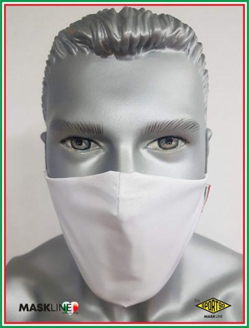 mascherina maskline by sport90 personalizzata lavoro e sport