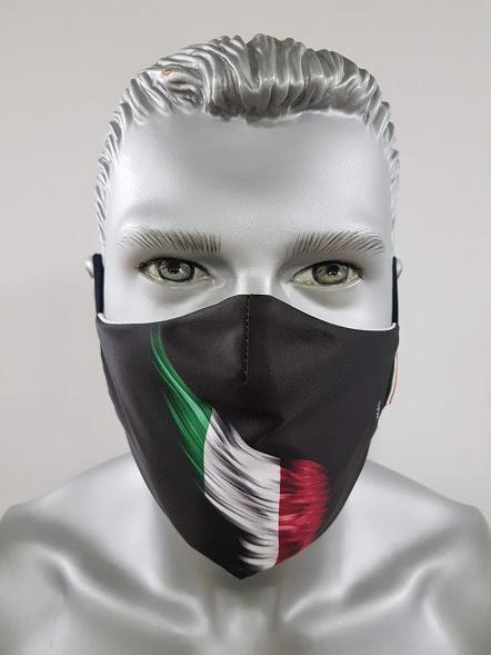 mascherina maskline bandiera tricolore italia