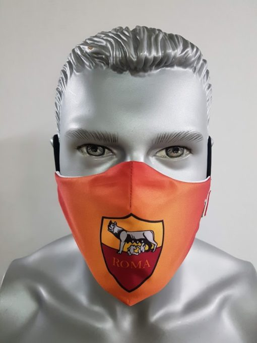 mascherina maskline by sport90 calcio roma