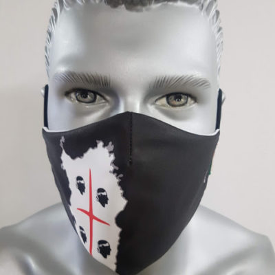 mascherina maskline by sport90 italia sardegna quattro ori