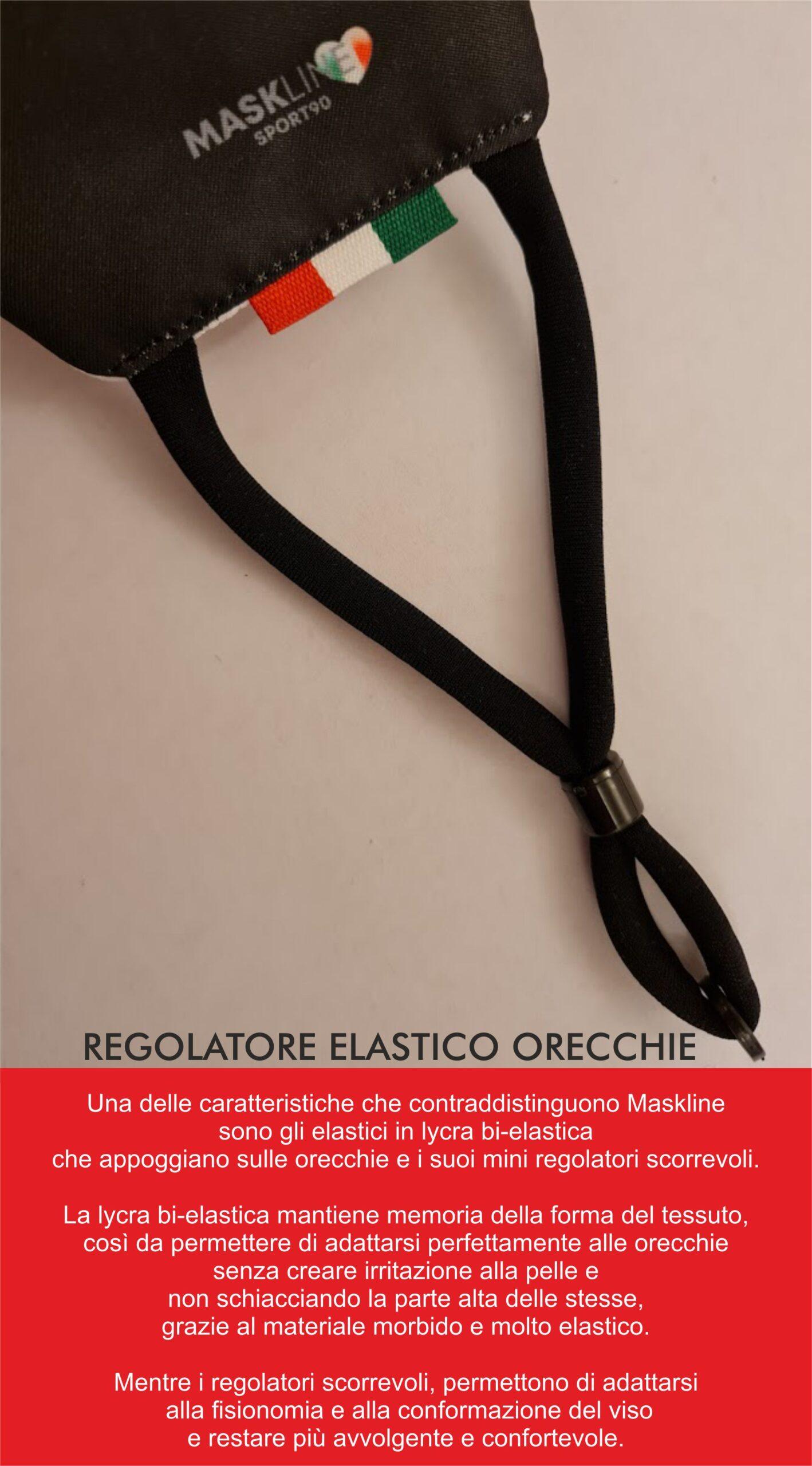 scheda tecnica mascherine maskline by sport90
